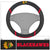 Chicago Blackhawks Faux Suede Steering Wheel Cover in Car