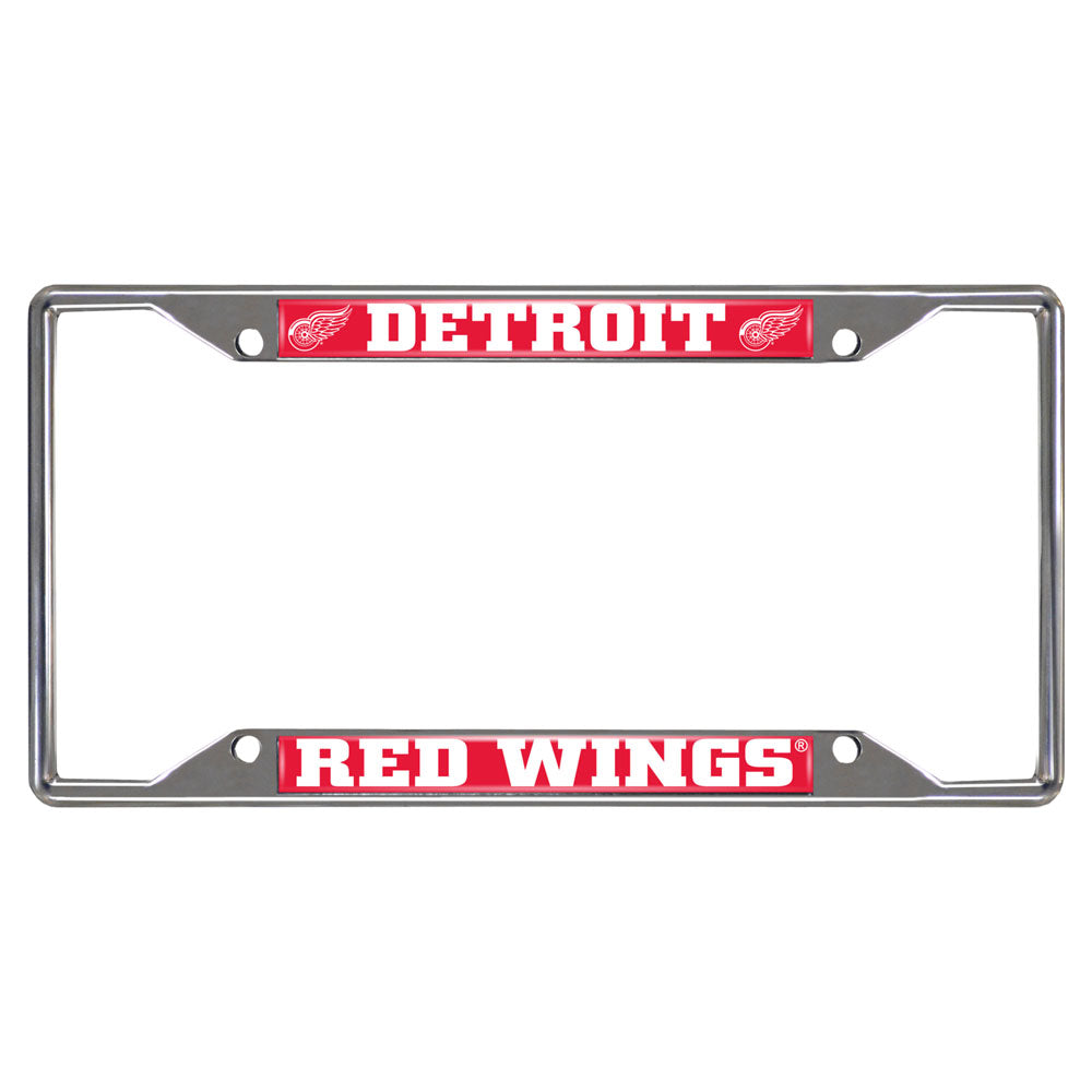 Detroit Red Wings Mirror Finish License Plate Frame