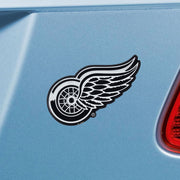Detroit Red Wings Chrome Emblem for Auto, Laptop or Mailbox