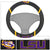 LSU Tigers Faux Suede Steering Wheel Cover in Car