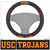 USC Trojans Faux Suede Steering Wheel Cover in Car
