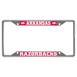 Arkansas Razorbacks Mirror Finish License Plate Frame