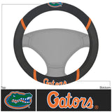 Florida Gators Faux Suede Steering Wheel Cover