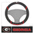 Georgia Bulldogs Faux Suede Steering Wheel Cover in Car