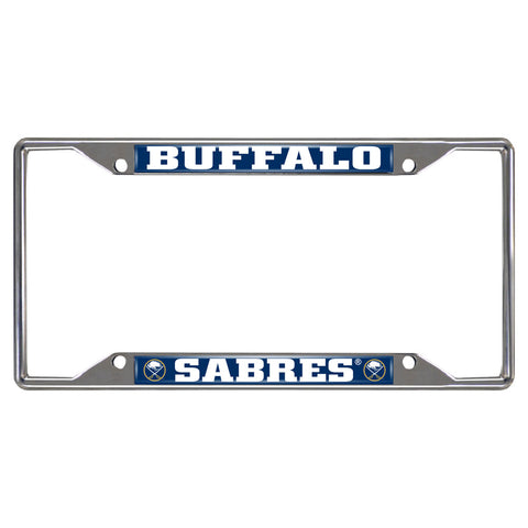 Buffalo Sabres Mirror Finish License Plate Frame