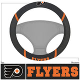 Philadelphia Flyers Faux Suede Steering Wheel Cover