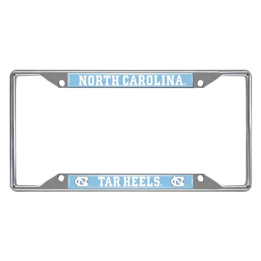 UNC Tar Heels Mirror Finish License Plate Frame