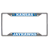 Kansas Jayhawks Mirror Finish License Plate Frame