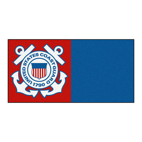 Coast Guard Bears Red/Blue Team Proud Carpet Tiles