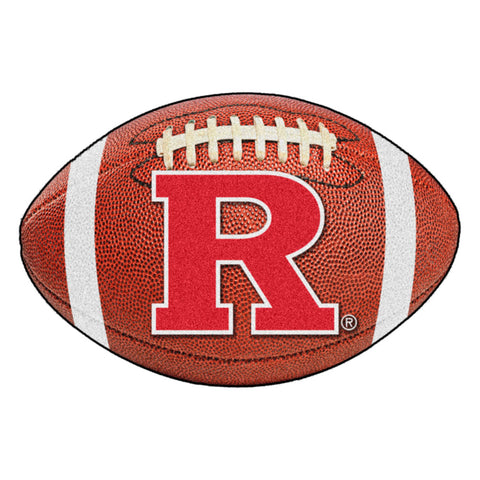 Rutgers Scarlet Knights Touchdown Football Area Rug