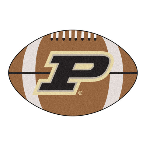 Purdue Boilermakers Touchdown Football Area Rug