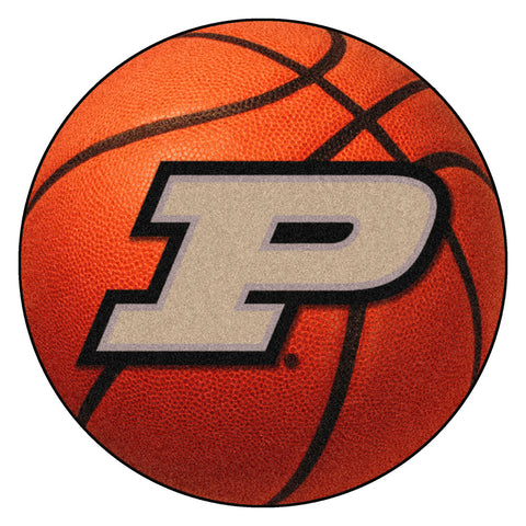 Purdue Boilermakers Basketball Area Rug
