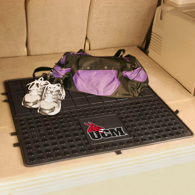 Central Missouri Mules Heavy Duty Cargo Mat in the Trunk