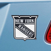 New York Rangers Chrome Emblem for Auto, Laptop or Mailbox