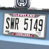 Cleveland Cavaliers Mirror Finish License Plate Frame on Car