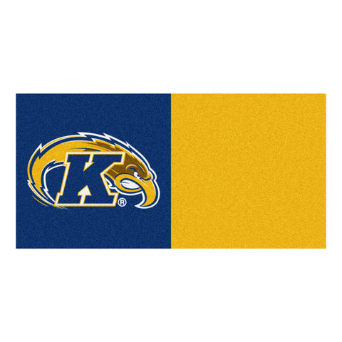 Kent State Golden Flashes Blue/Gold Team Proud Carpet Tiles