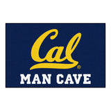 Cal Golden Bears Man Cave Area Rug