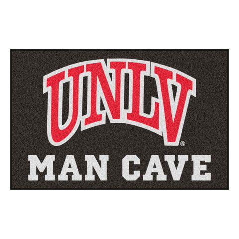 UNLV Rebels Man Cave Area Rug