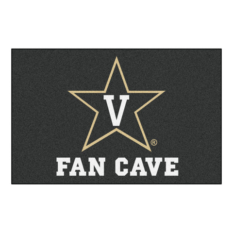 Vanderbilt Commodores Man Cave Area Rug