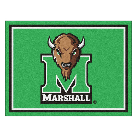 Marshall Thundering Herd 8x10 Plush Area Rug