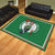 Boston Celtics 8x10 Plush Area Rug