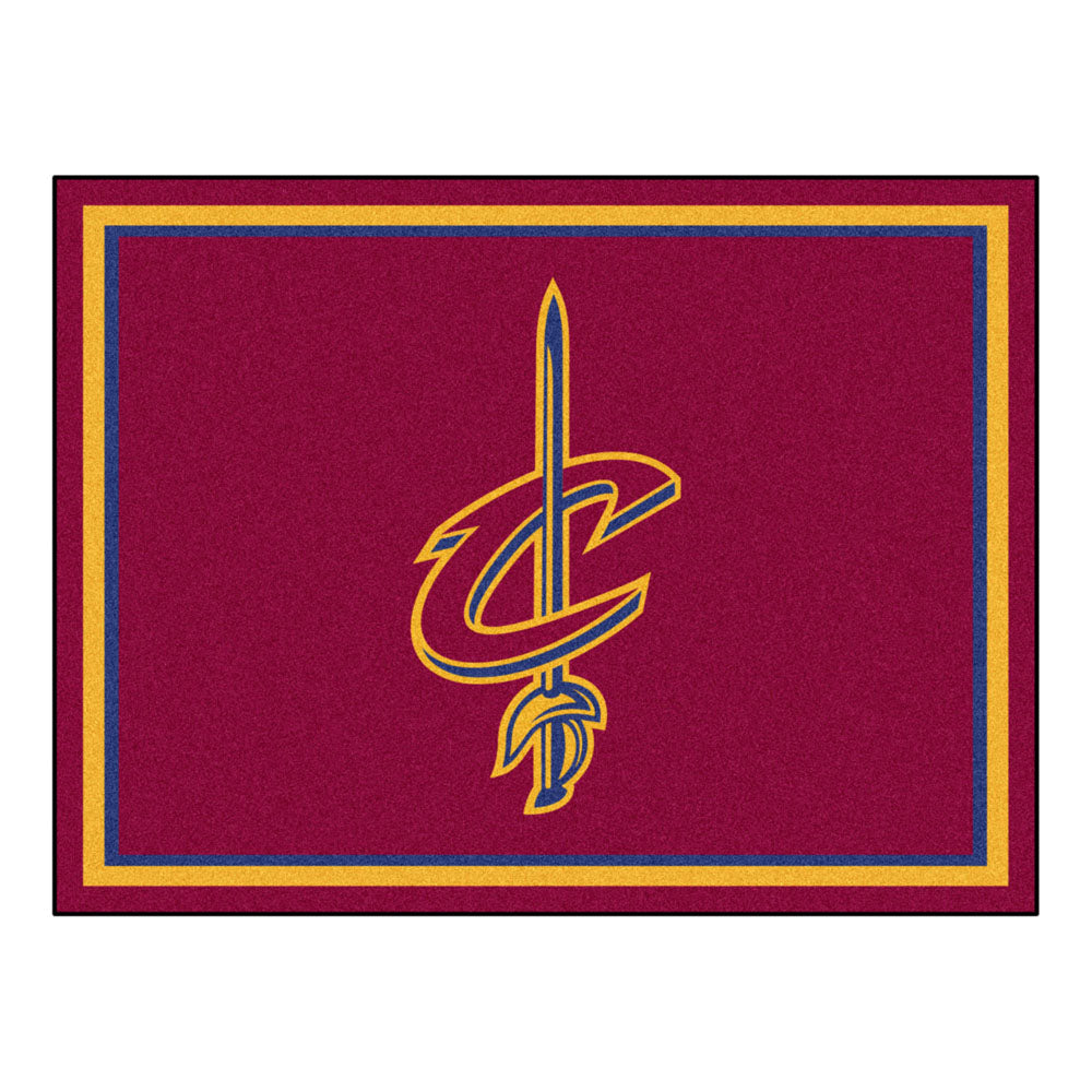 Cleveland Cavaliers 8x10 Plush Area Rug
