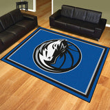 Dallas Mavericks 8x10 Plush Area Rug