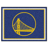 Golden State Warriors 8x10 Plush Area Rug