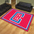 Los Angeles Clippers 8x10 Plush Area Rug