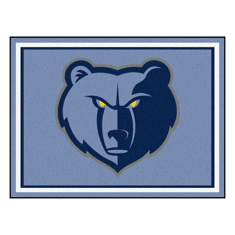 Memphis Grizzlies 8x10 Plush Area Rug