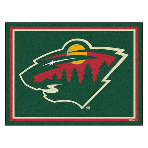Minnesota Wild 8x10 Plush Area Rug