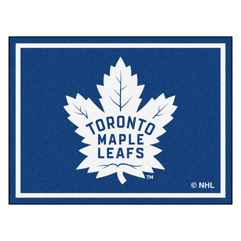 Toronto Maple Leafs 8x10 Plush Area Rug
