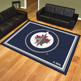 Winnipeg Jets 8x10 Plush Area Rug