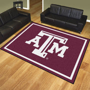 Texas A&M Aggies 8x10 Plush Area Rug
