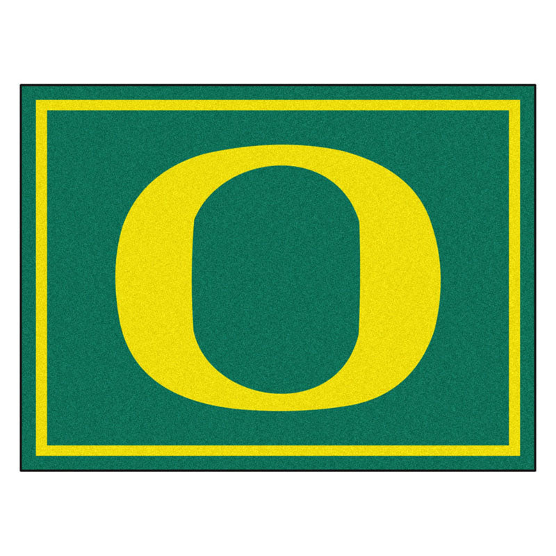 Oregon Ducks 8x10 Plush Area Rug