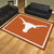 Texas Longhorns 8x10 Plush Area Rug