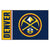 Denver Nuggets Uniform Inspired Area Rug - Team Sports Gift