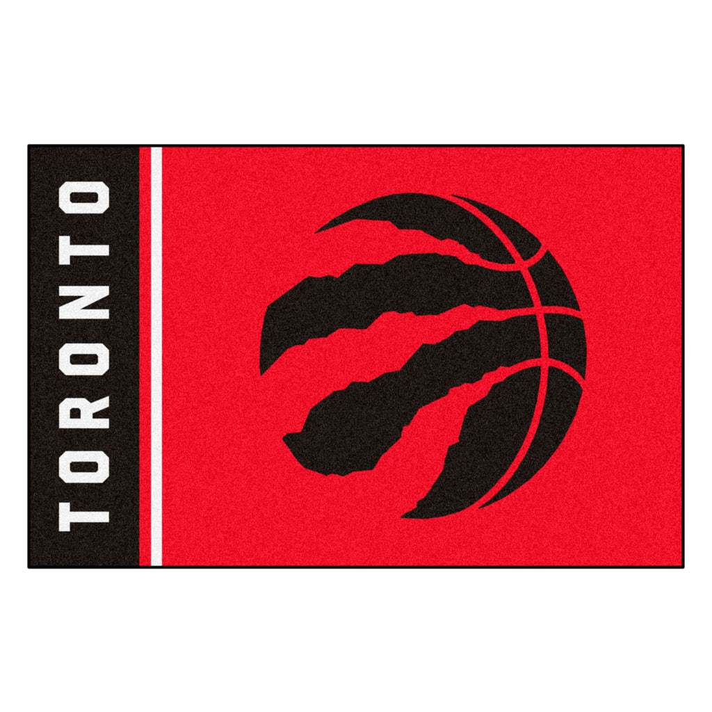 Toronto Raptors Uniform Inspired Area Rug