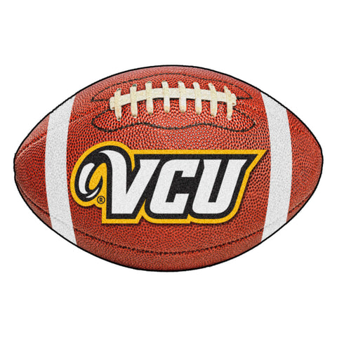 VCU Rams Touchdown Football Area Rug