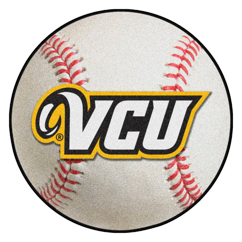 VCU Rams Grand Slam Baseball Area Rug