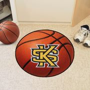 "Kennesaw State Owls ""KS Logo"" Basketball Area Rug in Room"