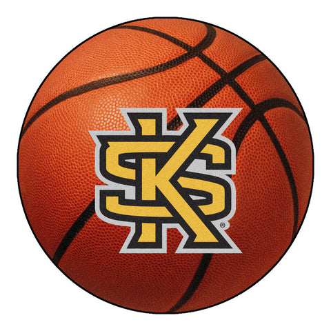 "Kennesaw State Owls ""KS Logo"" Basketball Area Rug"
