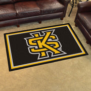 Kennesaw State Owls Ultra Plush Area Rug 4x6