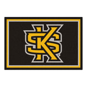 Kennesaw State Owls Ultra Plush Area Rug 5x8