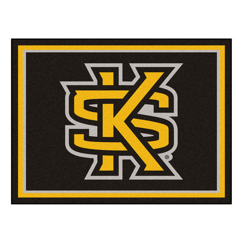 Kennesaw State Owls 8x10 Plush Area Rug