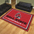 Ball State Cardinals 8x10 Plush Area Rug