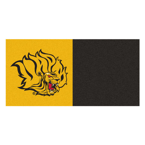 Arkansas Pine Bluff Golden Lions Black/Gold Team Proud Carpet Tiles