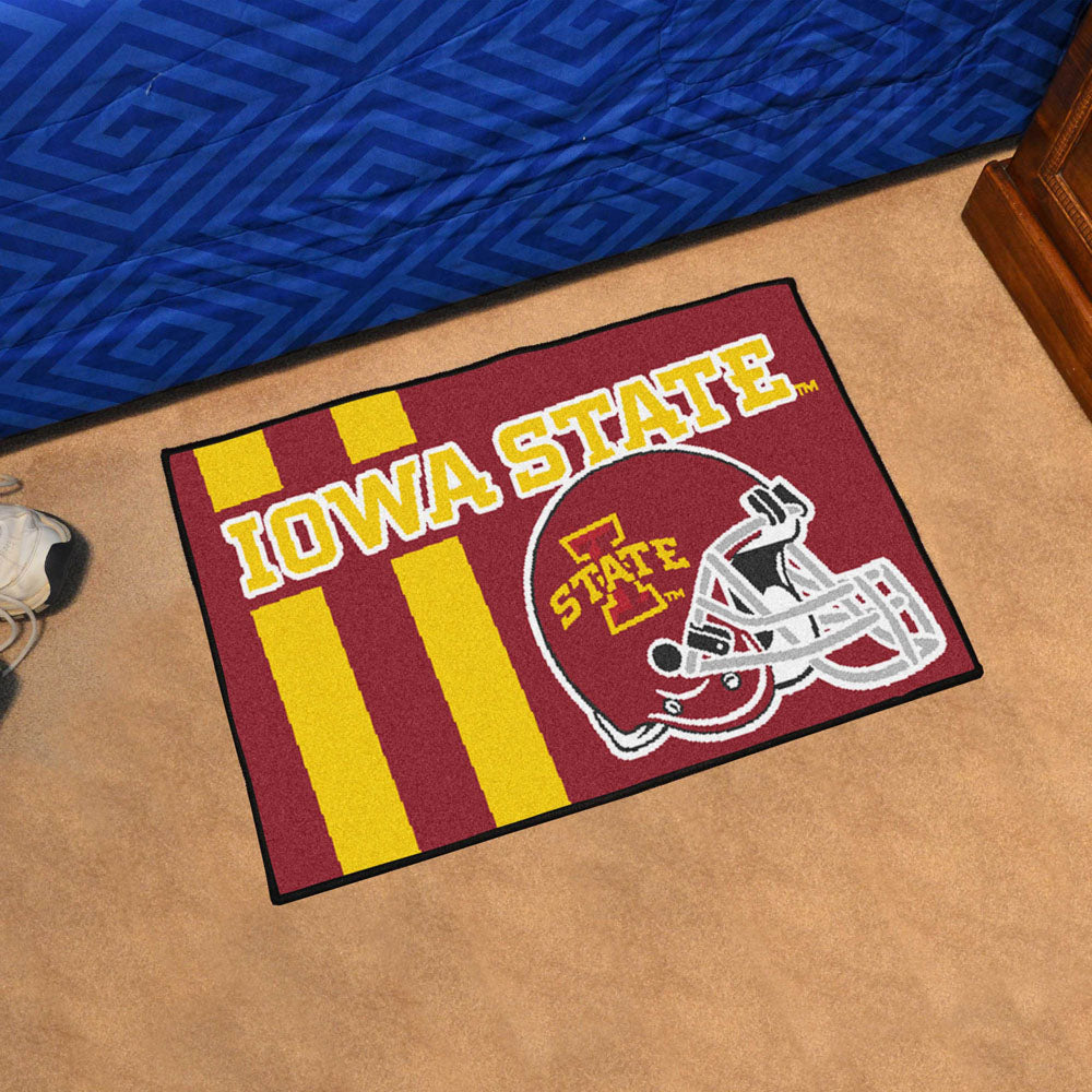 Iowa State Cyclones Uniform Inspired Area Rug
