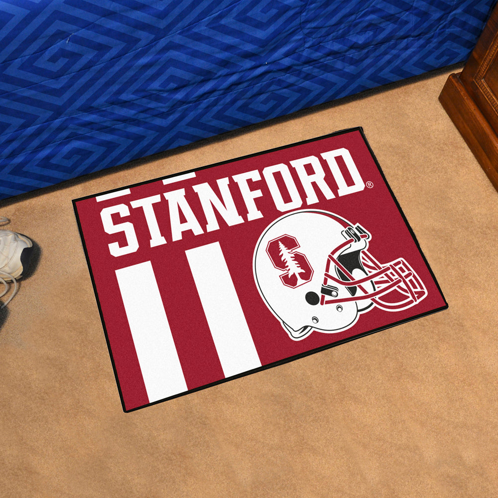 Stanford Cardinals Uniform Inspired Area Rug