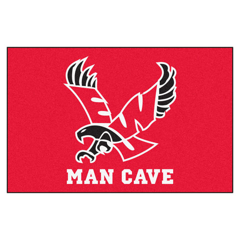 Eastern Washington Eagles Red Man Cave Area Rug